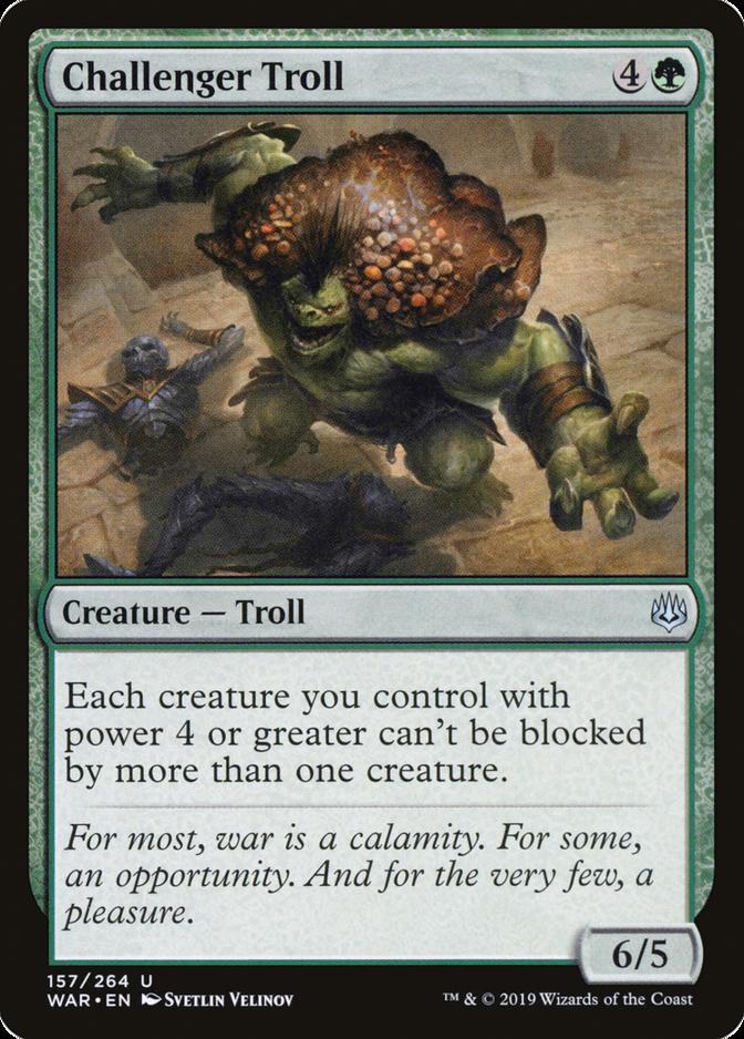 Challenger Troll [WAR]