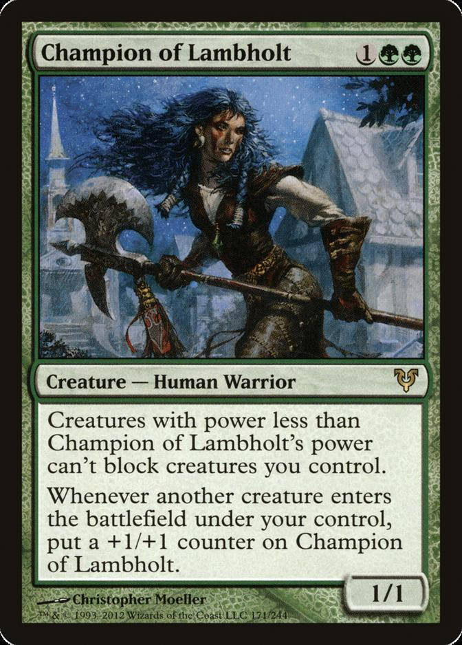 Champion of Lambholt [AVR]