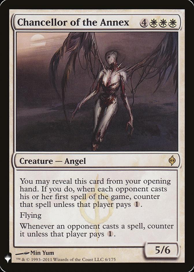 Chancellor of the Annex [MB1]