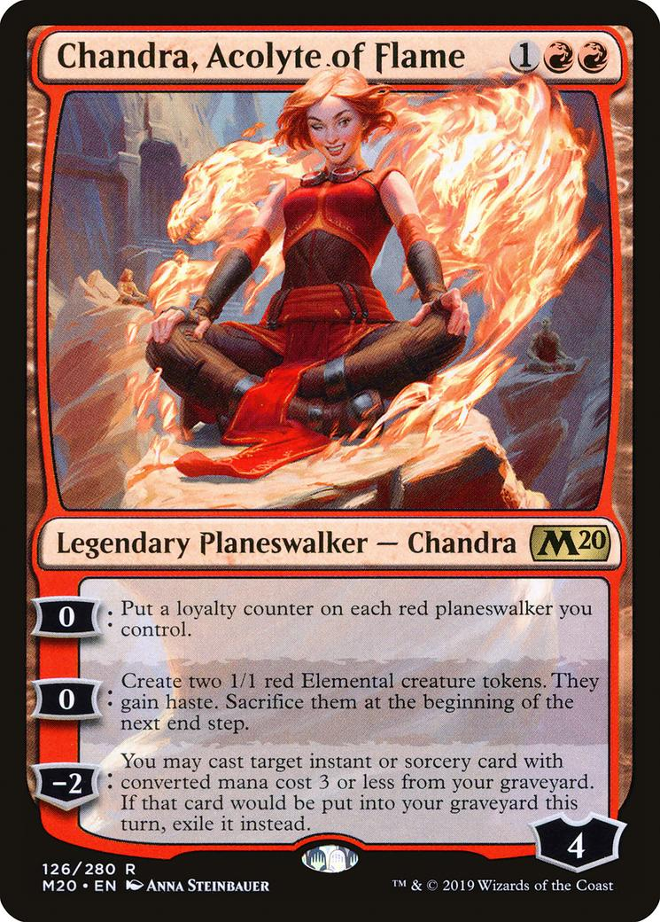 Chandra, Acolyte of Flame [M20]
