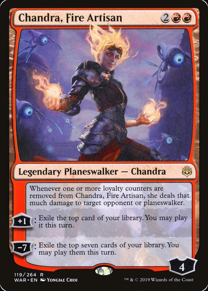 Chandra, Fire Artisan [WAR]