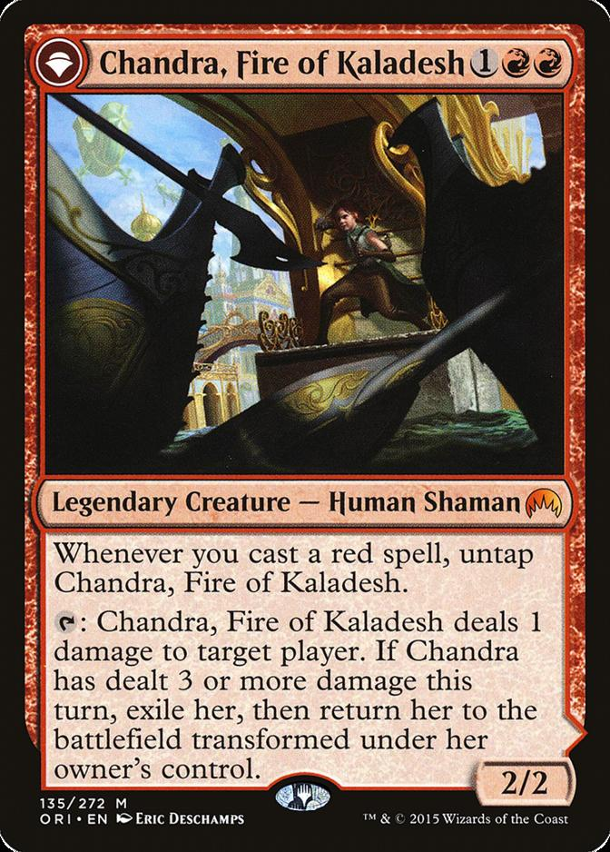 Chandra, Fire of Kaladesh [ORI]