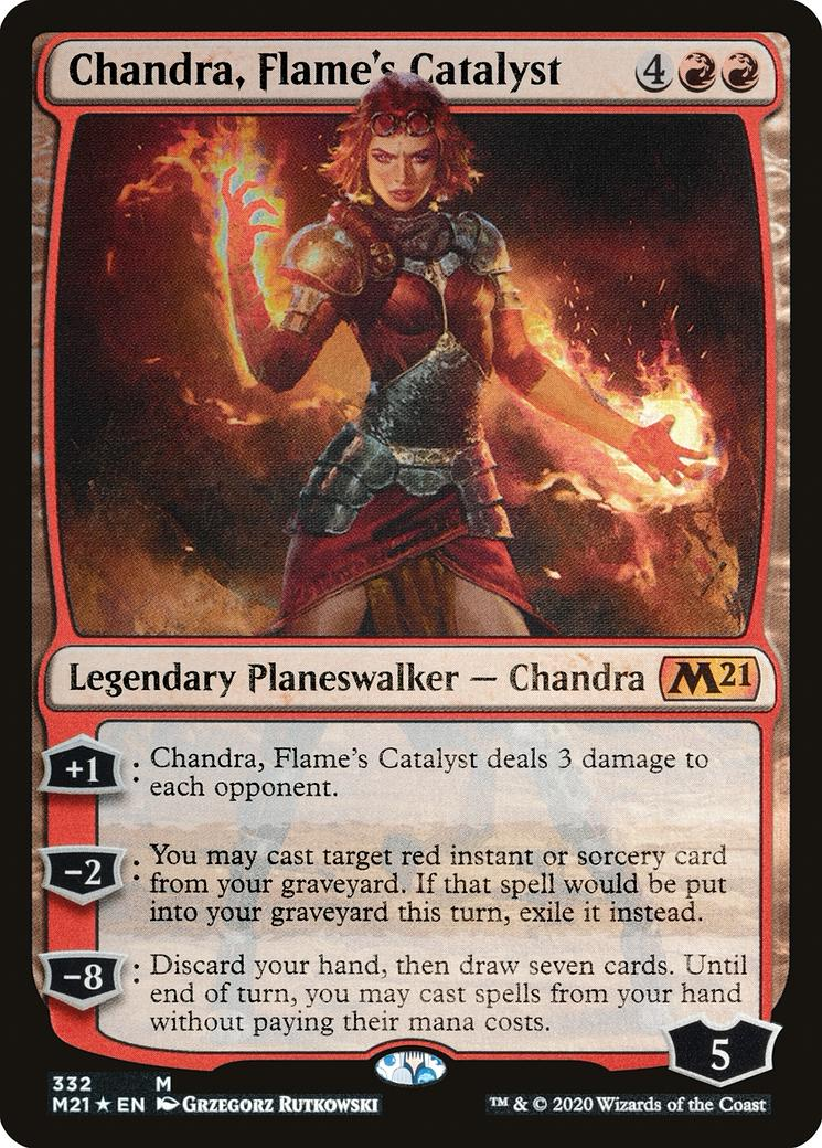 Chandra, Flame's Catalyst [M21] (F)