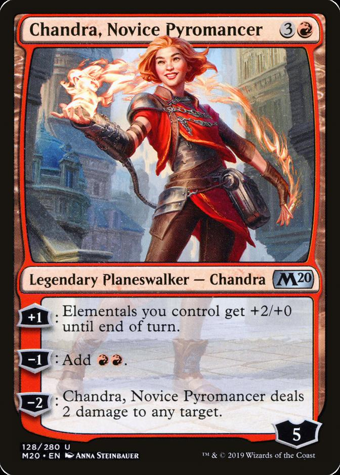 Chandra, Novice Pyromancer [M20]