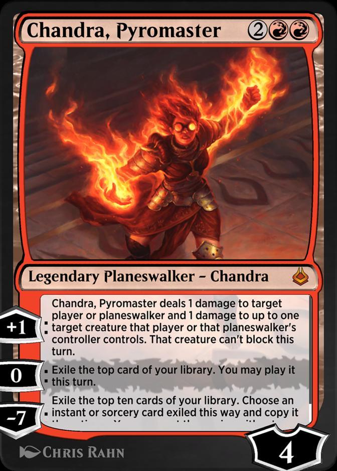 Chandra, Pyromaster [AKR]
