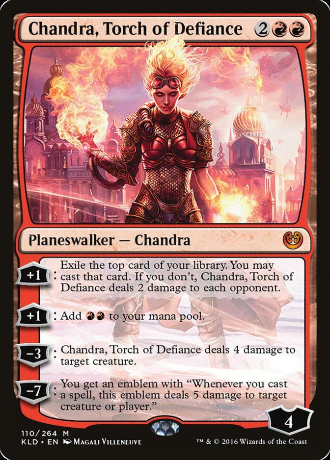 Chandra, Torch of Defiance [KLD]
