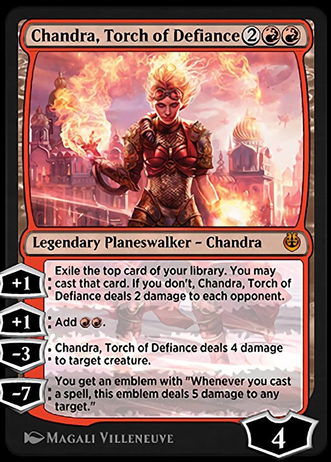 Chandra, Torch of Defiance [KLR]