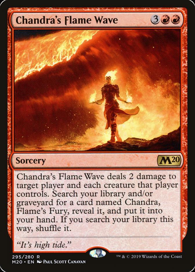 Chandra's Flame Wave [M20]