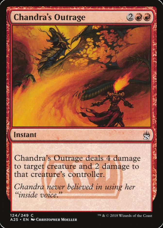 Chandra's Outrage [A25] (F)