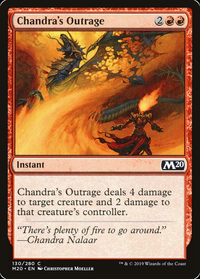 Chandra's Outrage [M20]