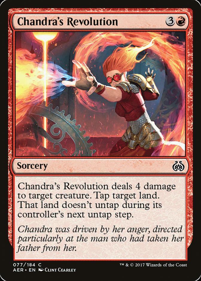 Chandra's Revolution [AER] (F)