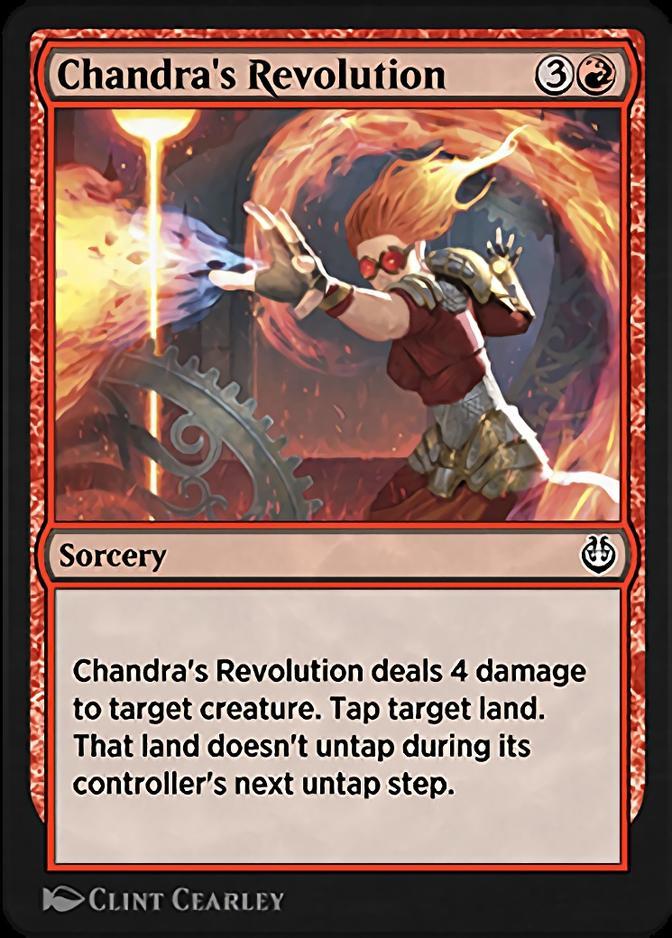 Chandra's Revolution [KLR]