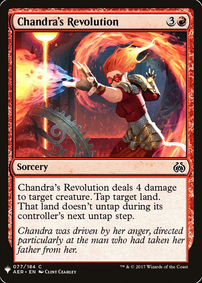 Chandra's Revolution [MB1]