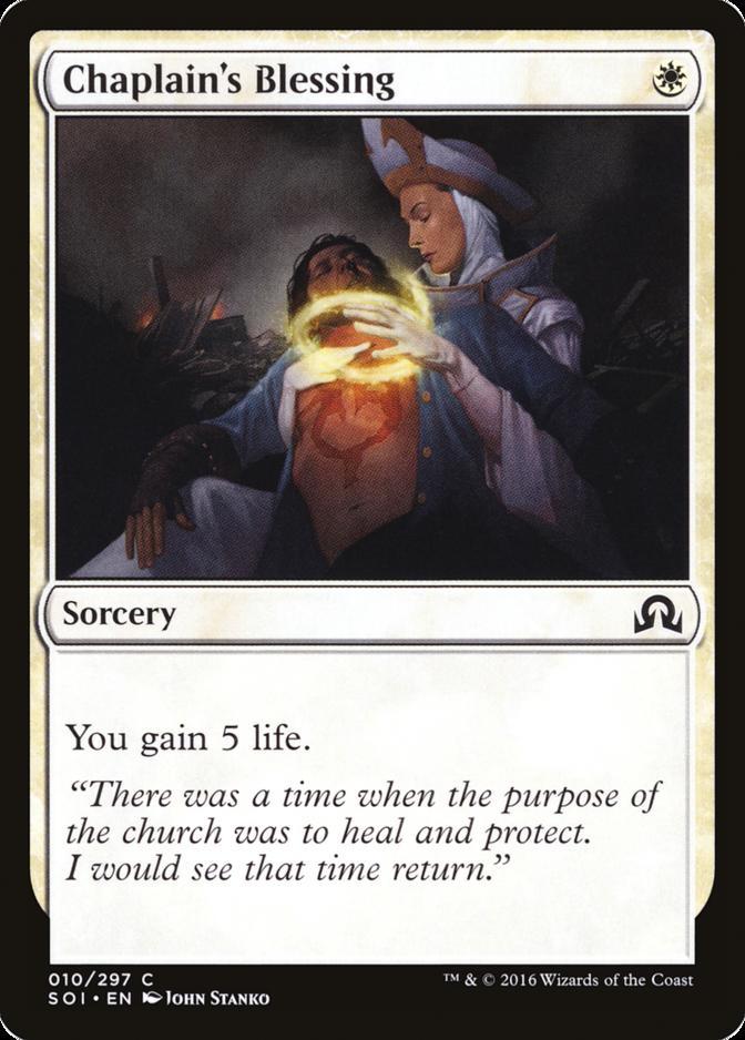 Chaplain's Blessing [SOI] (F)