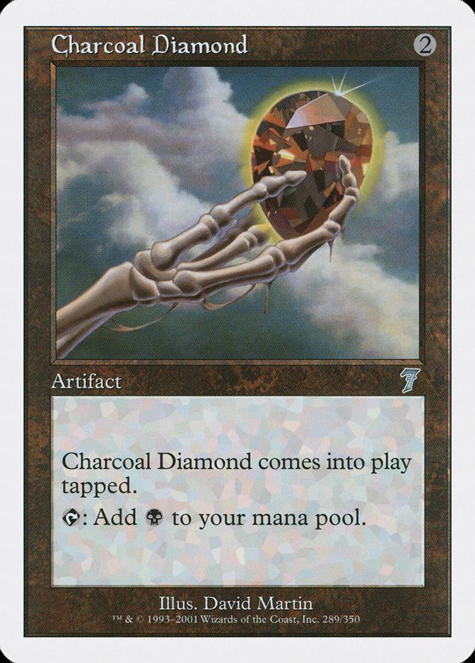 Charcoal Diamond [7E]