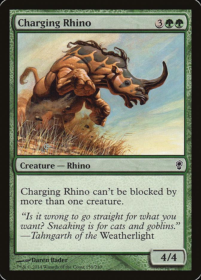 Charging Rhino [CNS]