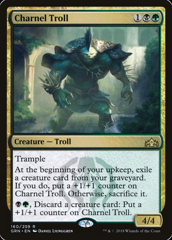 Charnel Troll [GRN]