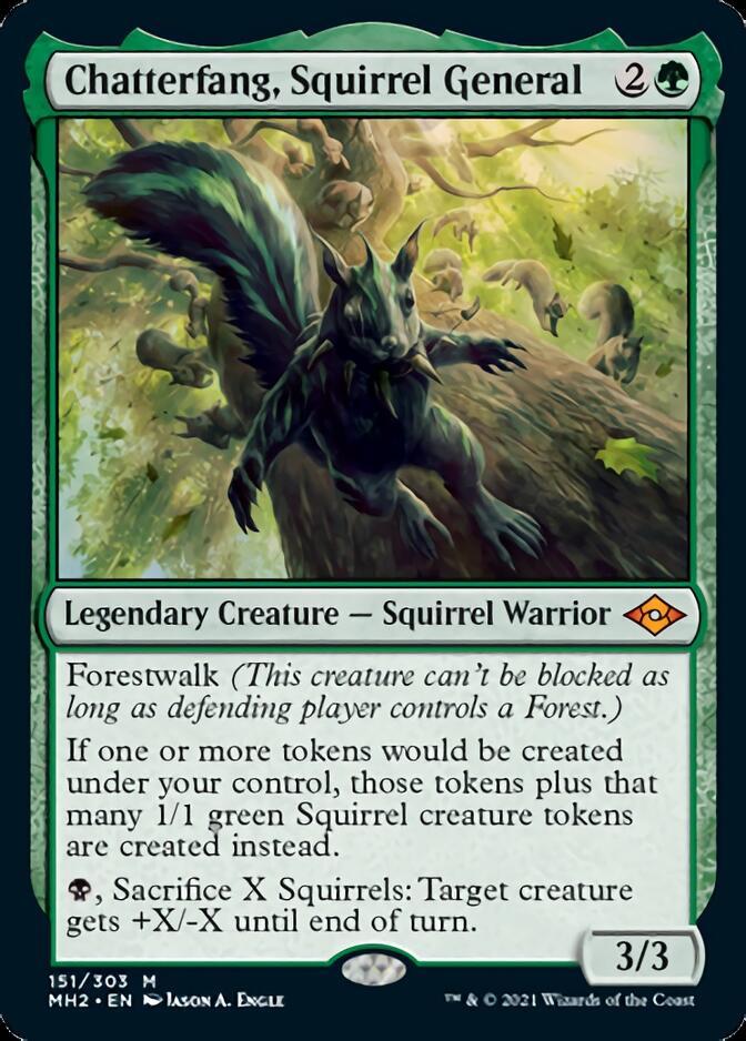 Chatterfang, Squirrel General [J21]