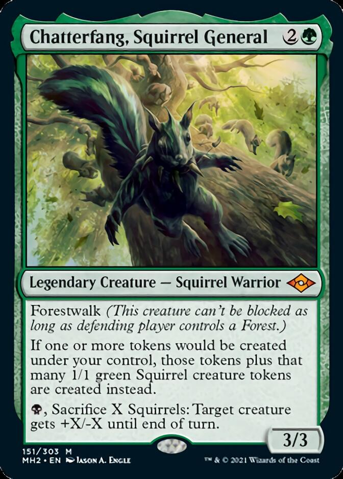 Chatterfang, Squirrel General [MH2]