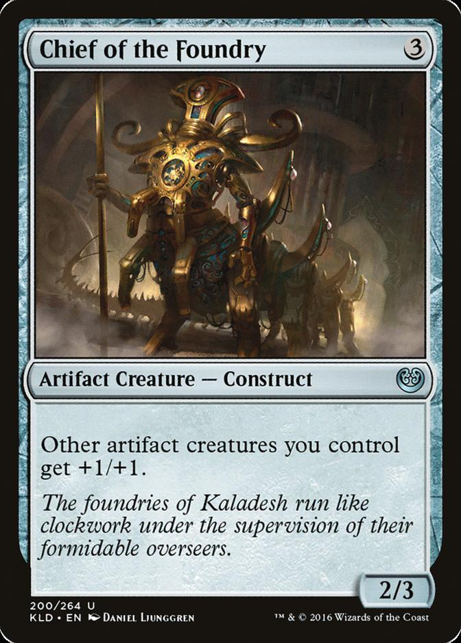 Chief of the Foundry [KLD]