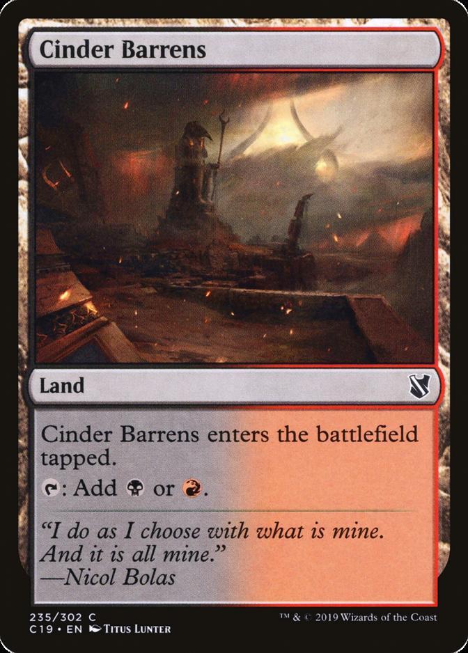 Cinder Barrens [C19]