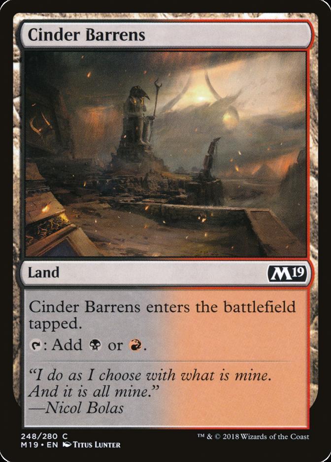 Cinder Barrens [M19]