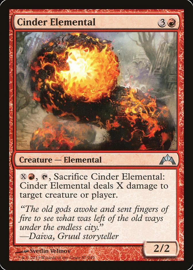 Cinder Elemental [GTC]