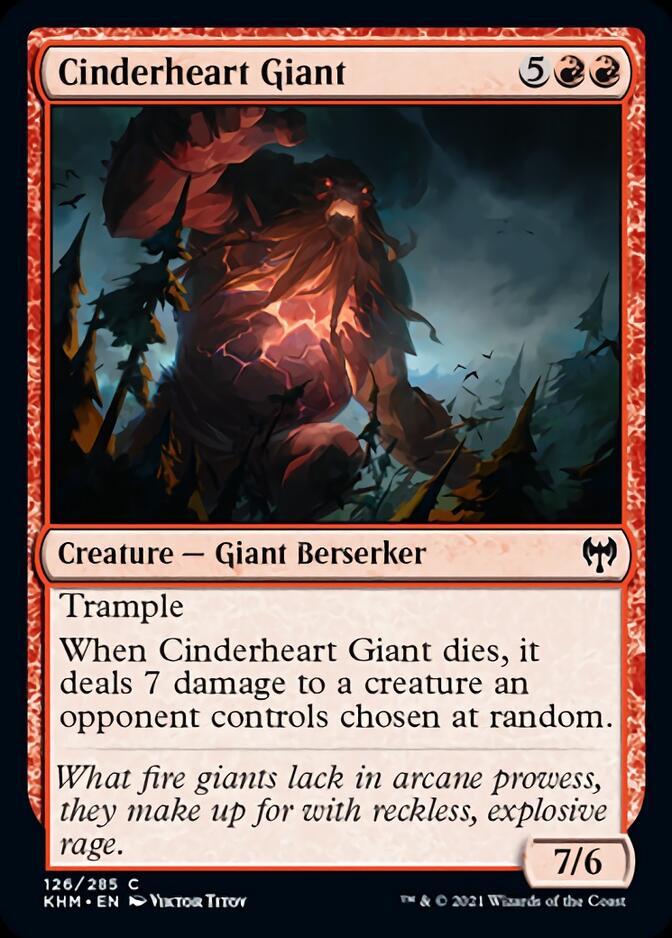 Cinderheart Giant [KHM]
