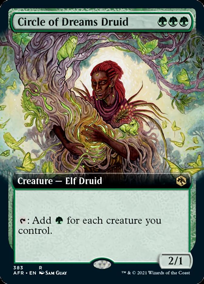 Circle of Dreams Druid <extended> [AFR]