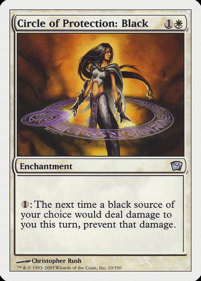 Circle of Protection: Black [9ED] (F)