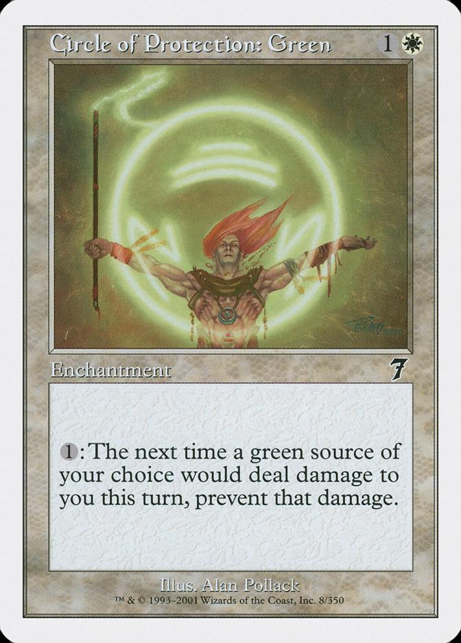 Circle of Protection: Green [7E]