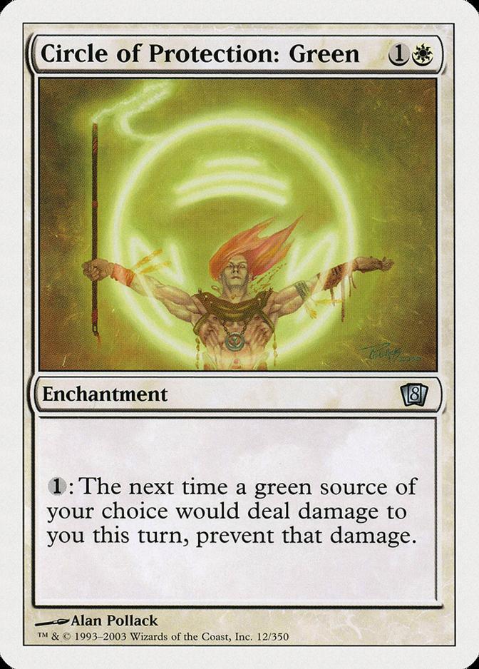 Circle of Protection: Green [8ED]
