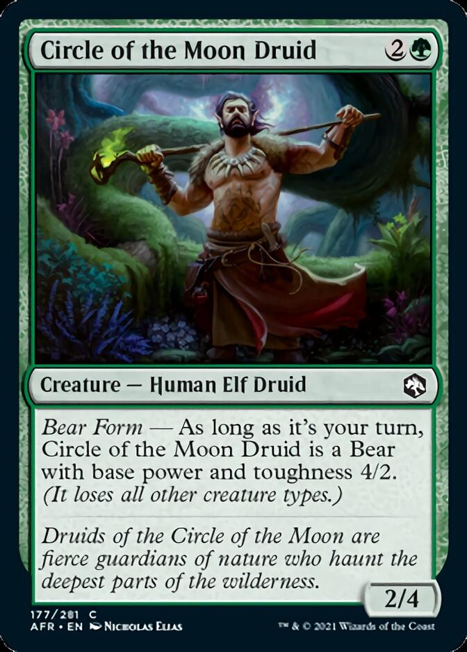 Circle of the Moon Druid [AFR]
