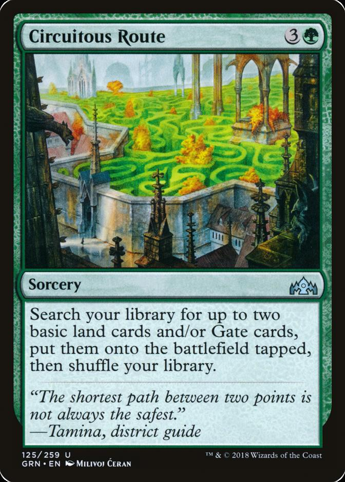 Circuitous Route [GRN] (F)