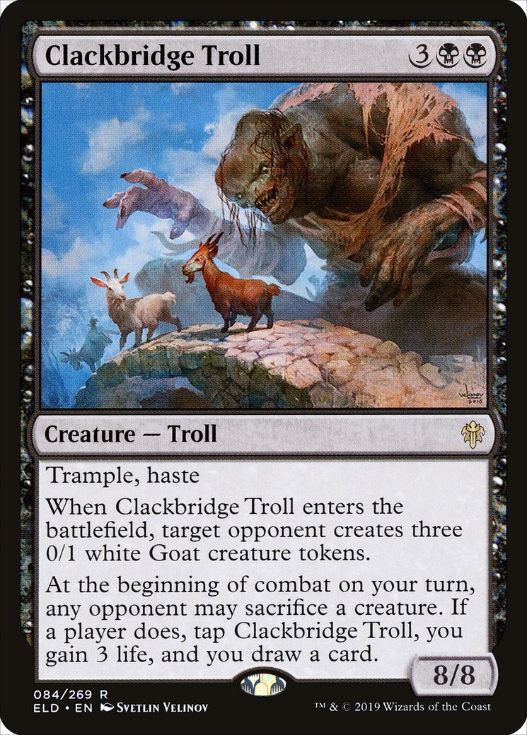 Clackbridge Troll [ELD]