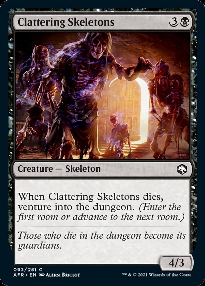 Clattering Skeletons [AFR]