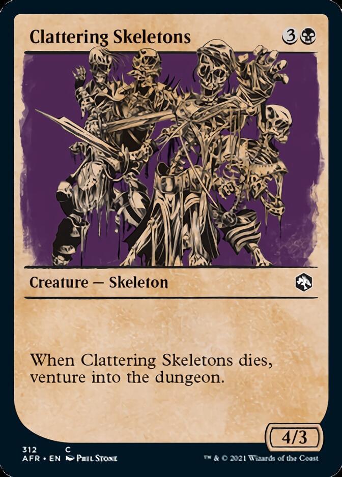 Clattering Skeletons <showcase> [AFR]
