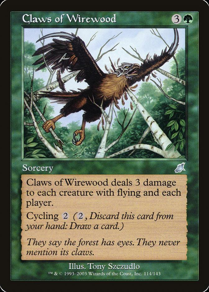 Claws of Wirewood [SCG]