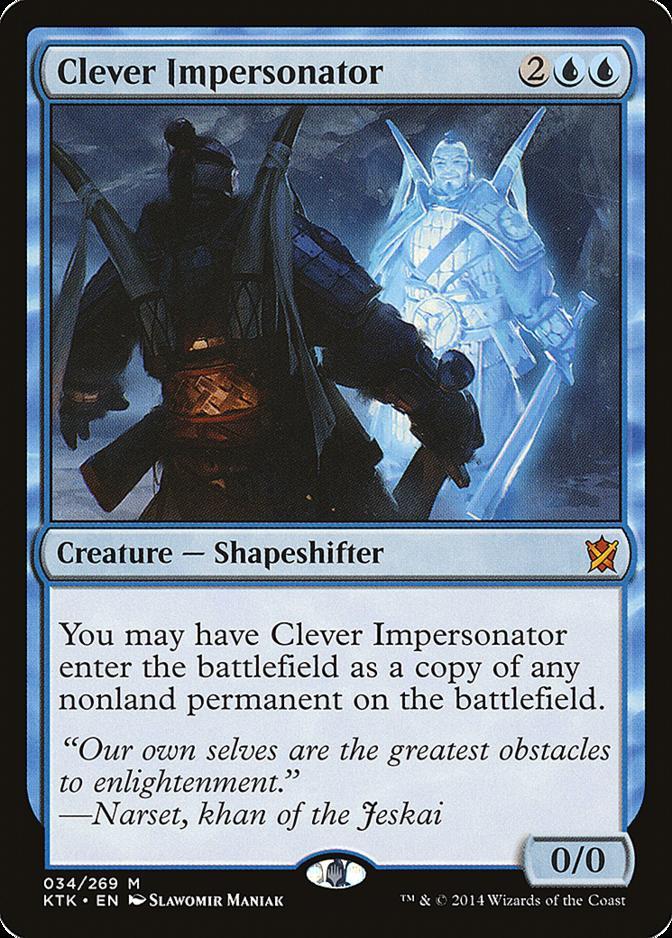 Clever Impersonator [KTK] (F)