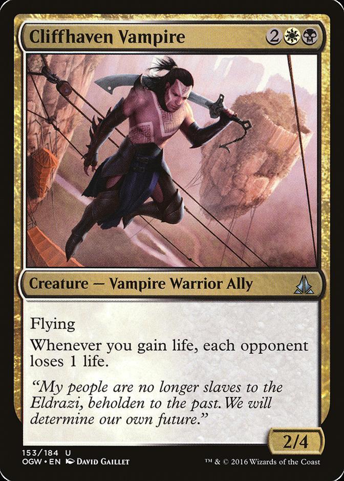 Cliffhaven Vampire [OGW]