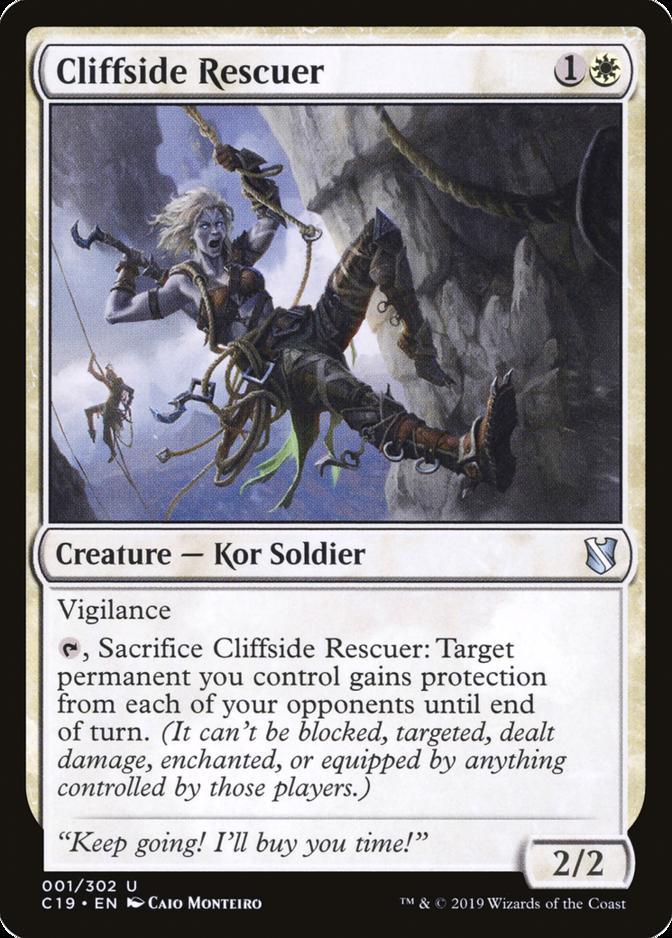 Cliffside Rescuer [C19]