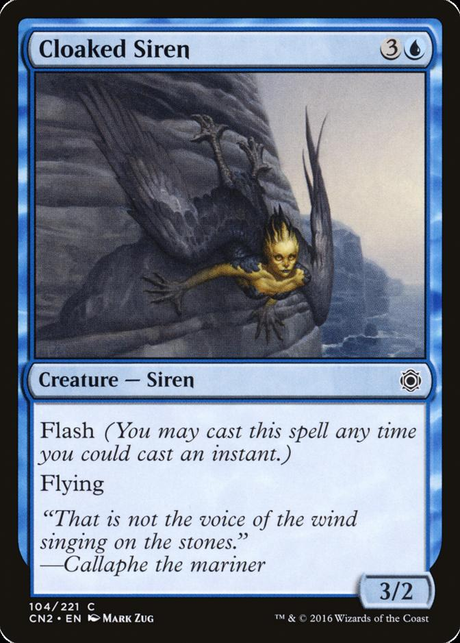 Cloaked Siren [CN2]