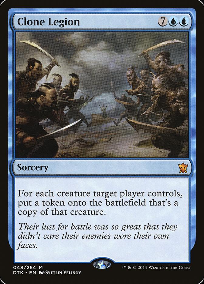 Dragons of Tarkir Clone Legion MTG Magic: The Gathering