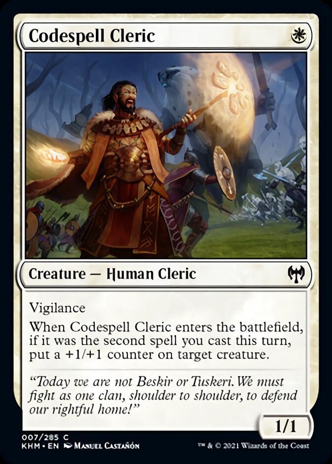 Codespell Cleric [KHM]