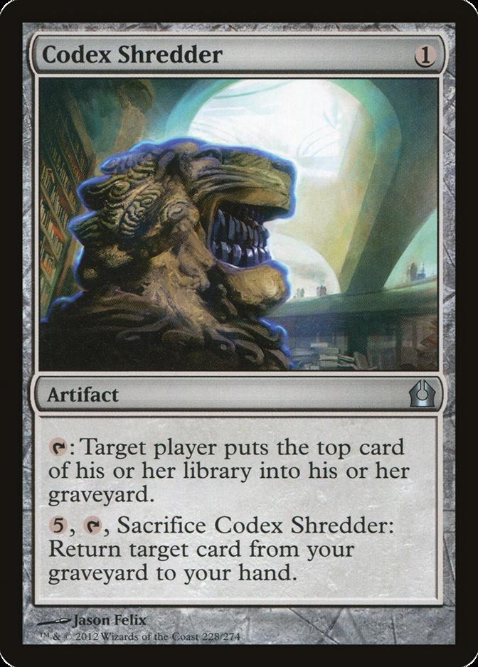 Codex Shredder [RTR]