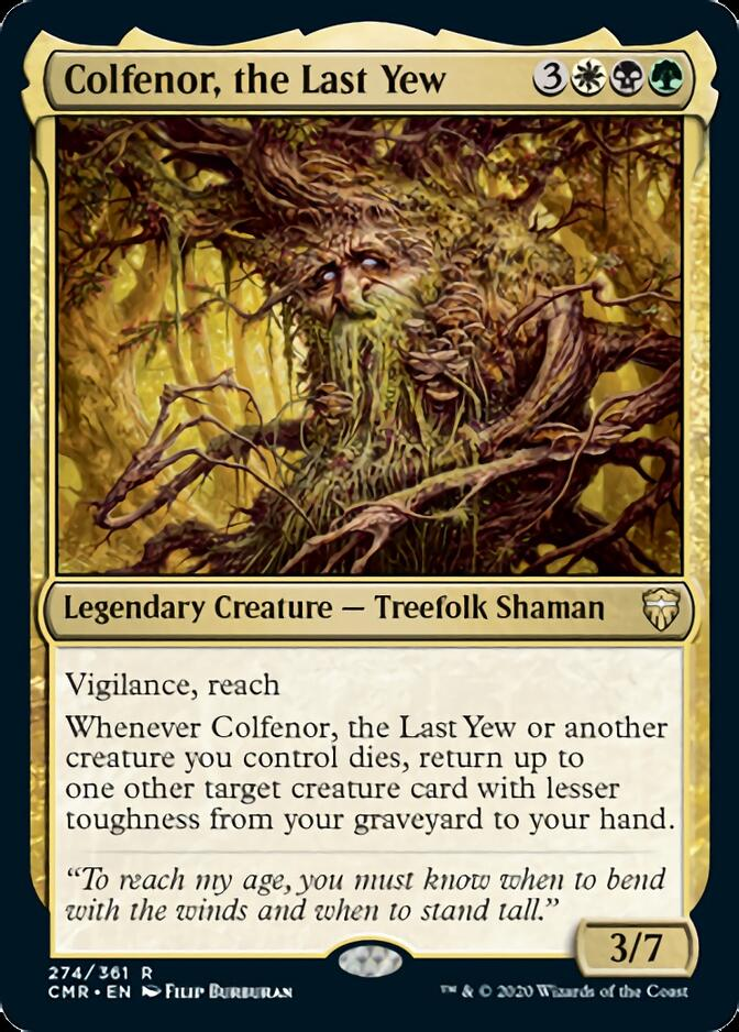 Colfenor, the Last Yew [CMR]