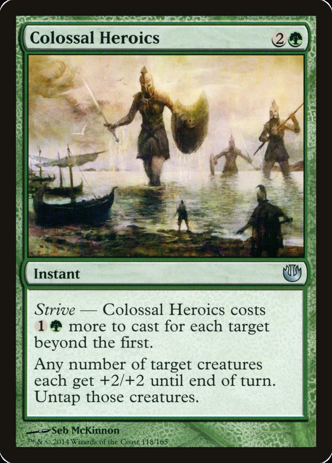 Colossal Heroics [JOU]