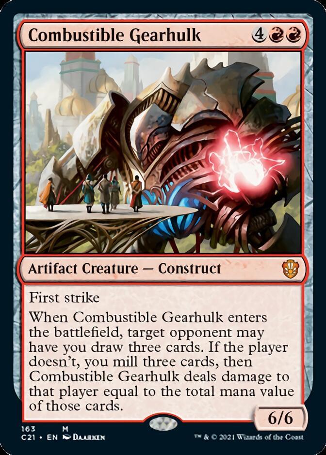 Combustible Gearhulk [C21]