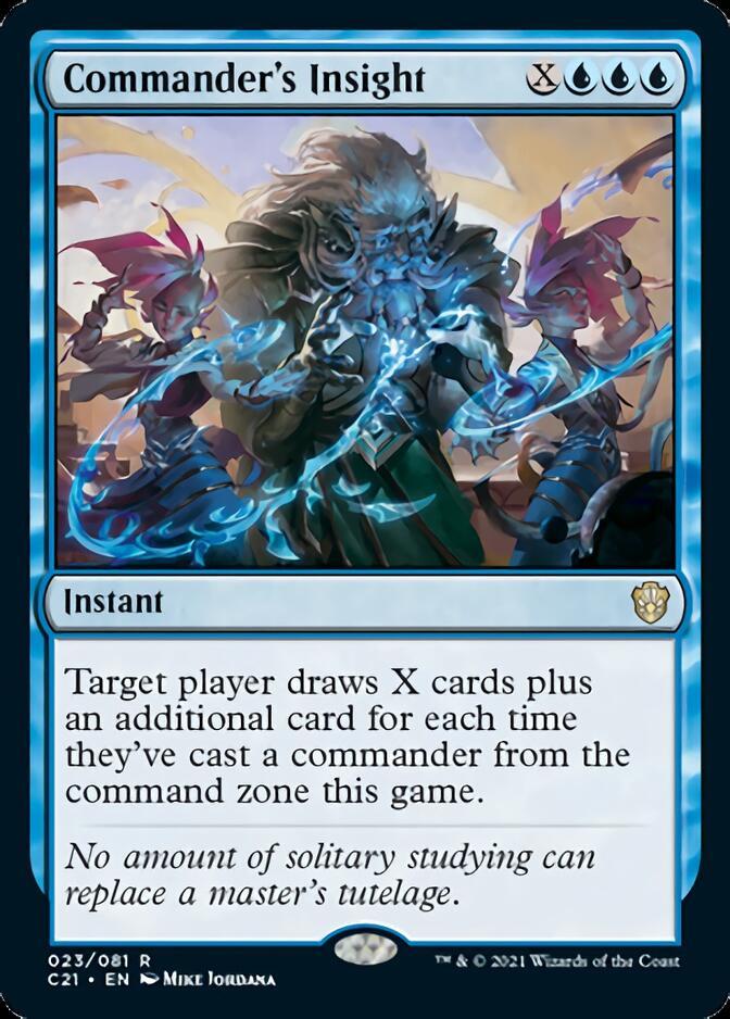 Commander's Insight [C21]