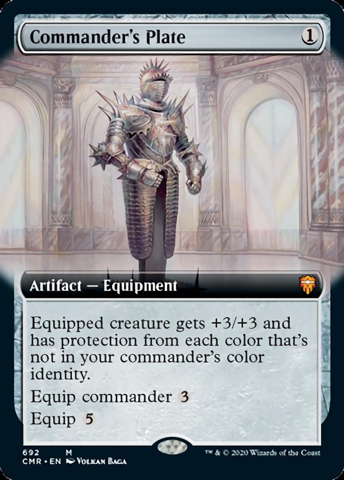 Commander's Plate [PCMR]